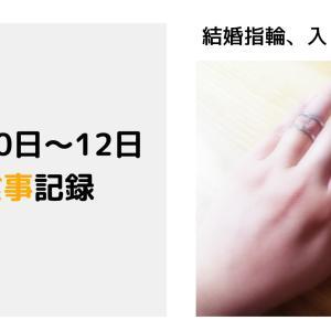 【2021/6/10~12】食事記録 Day41~43