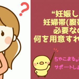 【販売員が教える】妊婦帯(腹帯)はいる?いらない?つけるメリットと何を用意すればいいかが一目でわかります!