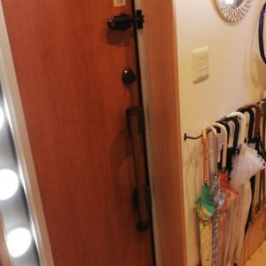Room6:アイアンバーで傘かけをDIYを実践。便利でオシャレ!掃除も楽になりました!
