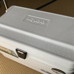 使用しているクーラボックス igloo(イグルー) MARINE ULTRA マリーンウルトラ 54