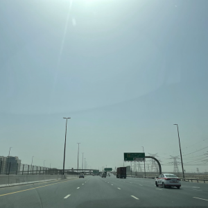 ドバイの大気汚染