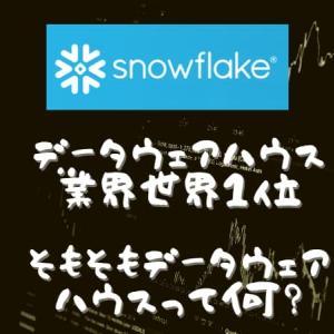 スノーフレークsnowflake(SNOW)の決算発表と今後株価見通し