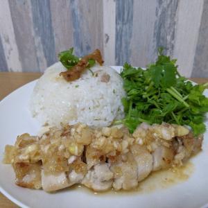 【セミリタイア飯】カオマンガイは簡単で節約もできて最高です。