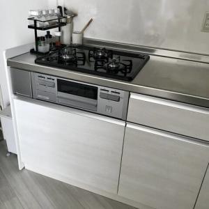 【キッチン】一人暮らしの食品ストック収納。