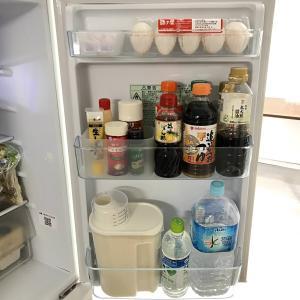 【冷蔵庫収納】ドアポケットのビフォーアフター。