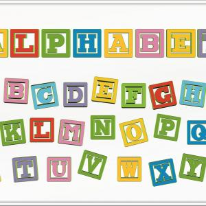 The Alphabet List