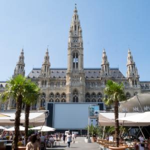 ウィーン半日観光 〜旧市街観光・買い物 : 市庁舎・ザッハーなど〜