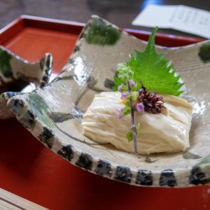 日光グルメ 明治の館 堯心亭(ぎょうしんてい)で精進料理