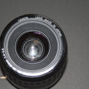 ジャンク品で買ったキャノンのカメラレンズ 分解掃除してみた