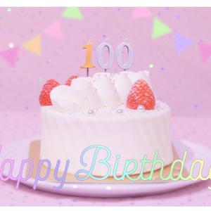 誕生日ケーキ箱がふたつ!?