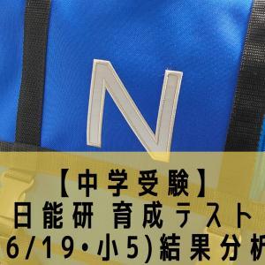 【中学受験】日能研 育成テスト(6/19•小5)結果分析