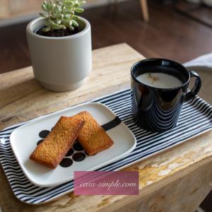 おうちカフェ④松永製作所のフィナンシェ型で手作りフィナンシェ 焼き上がりは手作りしか味わえない感動の味♡