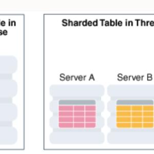 DBのテーブル水平分割技術「シャーディング」とは