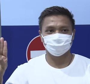 ミャンマー代表ピエ・リアン・アウン選手が帰国拒否 日本に難民申請へ アジア2次予選で来日