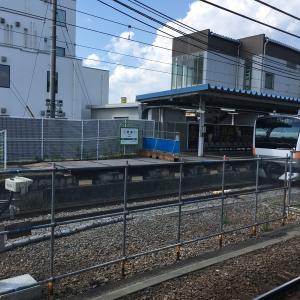 拝島駅1番線ホーム 線路切替工事を考察する。