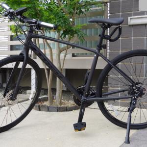自転車通勤生活始めました。脱自動車通勤。