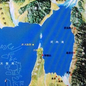 大阪湾と淀川・大和川