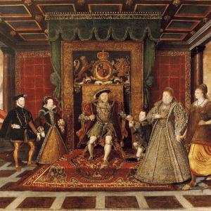 ヘンリー8世と6人の王妃