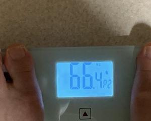 66,4kg ・・・