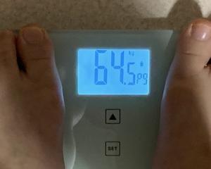 6月1日 64,5kg 変化なし