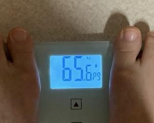 65,6kg なんでかなぁ