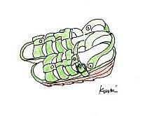 靴 イラスト付き