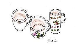 茶渋をとる イラスト付き