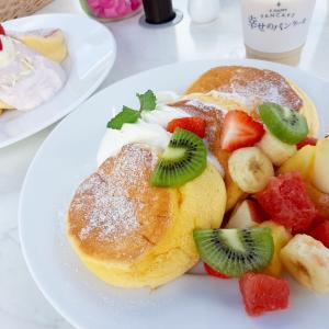 カフェめぐり HARBS  幸せのパンケーキ 星乃珈琲店