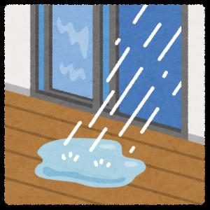 【一条工務店】この雨でブルーシート養成飛ばされて床材雨でベタベタになってしまった
