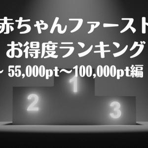【子育て】「赤ちゃんファースト」のお得な引き換え商品ランキング(55,000pt~100,000pt)