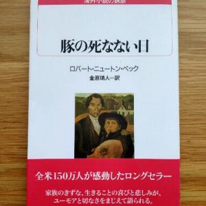 子供が大人になる過程で経験することが凝縮された小説『豚の死なない日』
