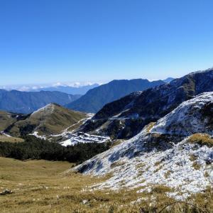 [南投]冬登山合歓山一泊二日、台湾の一番初心者向け3000m級高山