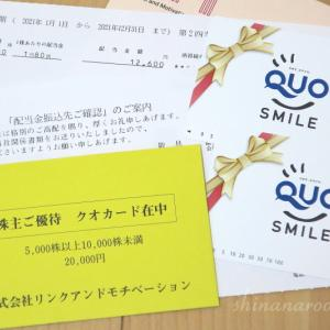 株主優待でQUOカード2万円分が届いた訳