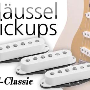 Haeussel Pickup Strat Classic アルニコ5とA2の音色を計測💖