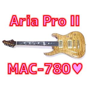 【レビュー】 Aria Pro II MAC-780 超豪華デザイン&ミディアム限定版💖