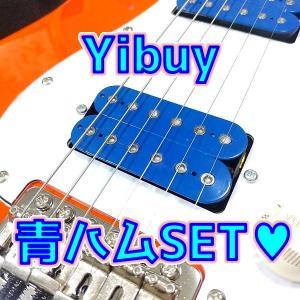 Amazon 激安ピックアップ 調査第8回 Yibuy ライトブルーハムバッカーセット