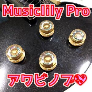 Musiclily Pro アワビサークルトップ スピードノブ (ミリ規格)ってどうよ?