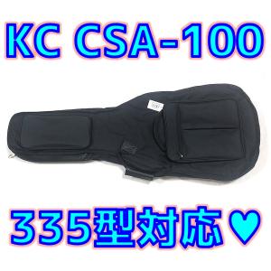 KC CSA-100 セミアコ用 ギグバッグ Bigsbyモデルで包容力調べてみた💖