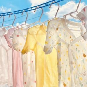 【#世界一幸せな洗濯】ベビー服選びから水通しまでしちゃりました!