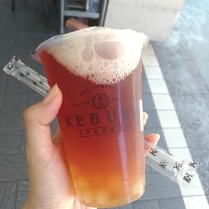 台湾で紅茶が美味しいドリンク店 可不可熟成紅茶