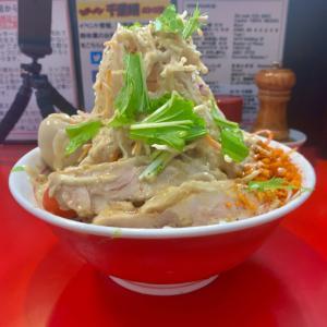 [千里眼] 毎年恒例の二郎系の冷やしメニュー、冷やし中華を食してきた!並びは45人超え。ルールやレビューを徹底解説!