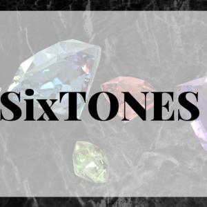 SixTONES!!!!!!