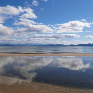 琵琶湖リフレクション