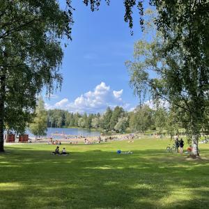 タンペレ近郊のおすすめ湖 Liutun uimaranta 行ってみたよ