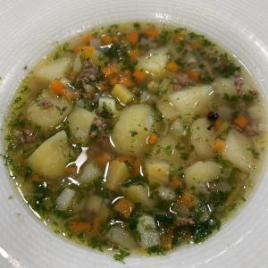 今日の授業は大好きな野菜スープ!  お久しぶりのお野菜も大活躍です