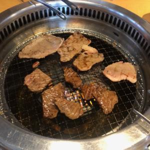 久々の休日。焼肉を食べに行きました。