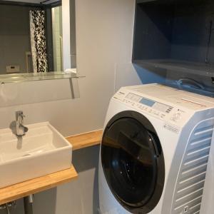 素晴らしい!洗濯機置けました。