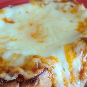 業務スーパー:天然酵母食パンで喫茶店のピザトースト、ツナトースト