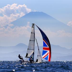 【東京五輪】セーリング英国代表が練習中に撮影した画像が話題に 「超超超美しいね」