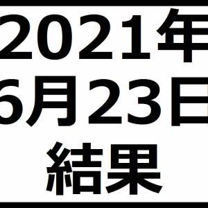 2021年6月23日結果 IPOで3社上場